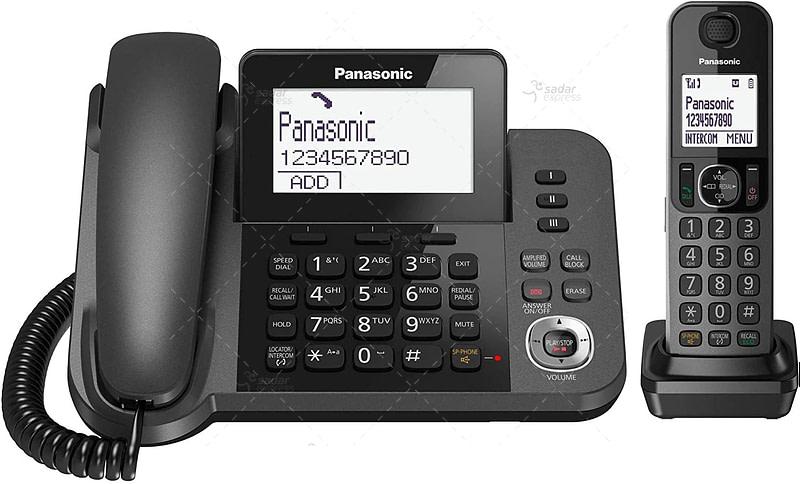 Panasonic KX-TGF320E Corded and Cordless Nuisance Call Block Combo Telephone Kit