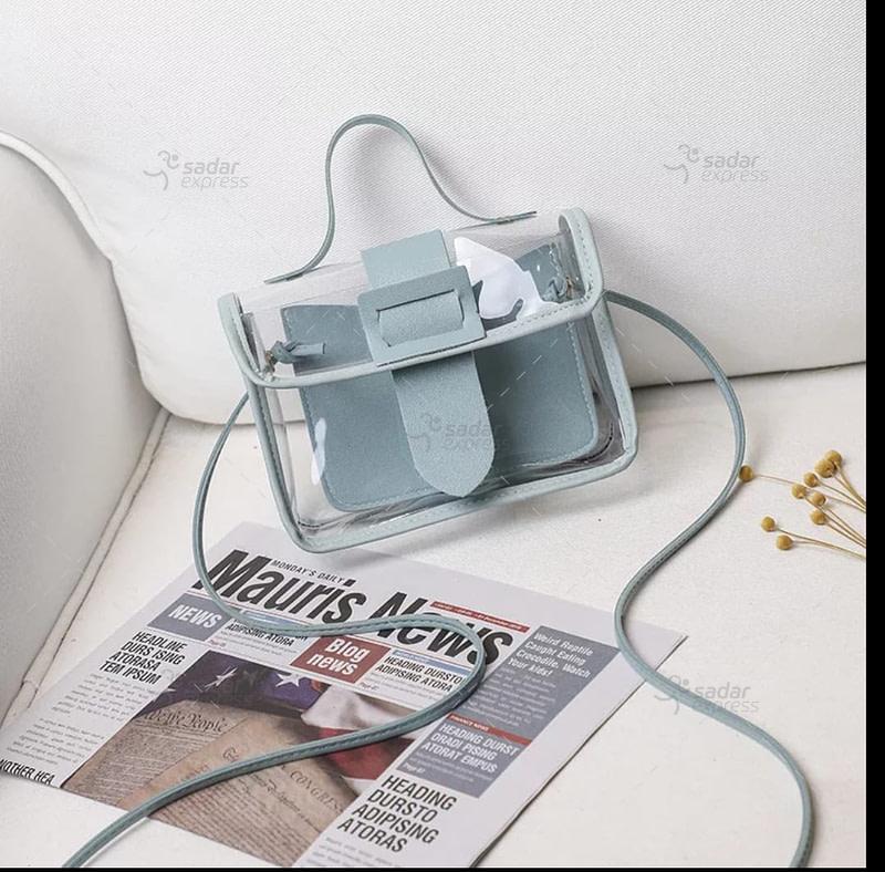 Jelly Handbag for women 2 in 1