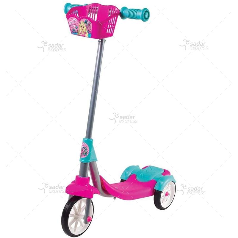 Cool Wheels Linda Scooter with Basket, Pink, Fr58338