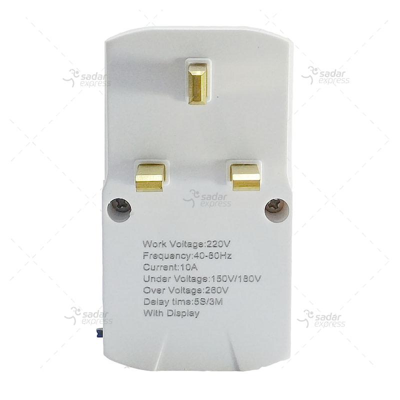 Clopal Voltage Protector socket plug 10A
