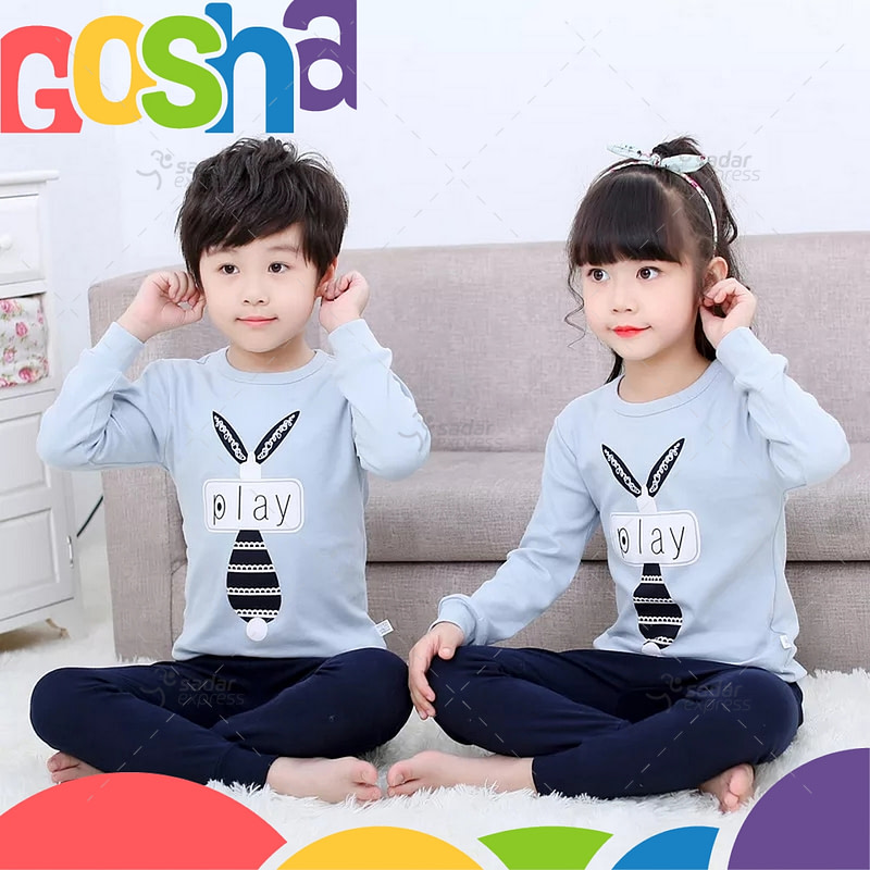 Blue Bunny Kids Nightwear Sleepwear Soft Cotton Night Suits For Boys & Girls