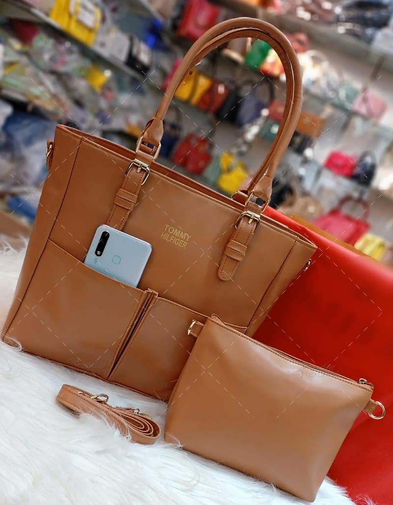 luxury t.ommy cross body original leather long strap 5