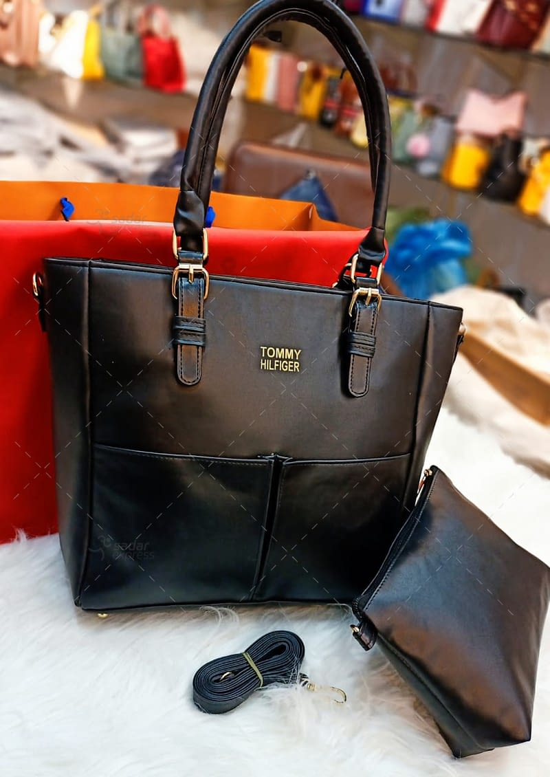 luxury t.ommy cross body original leather long strap 4
