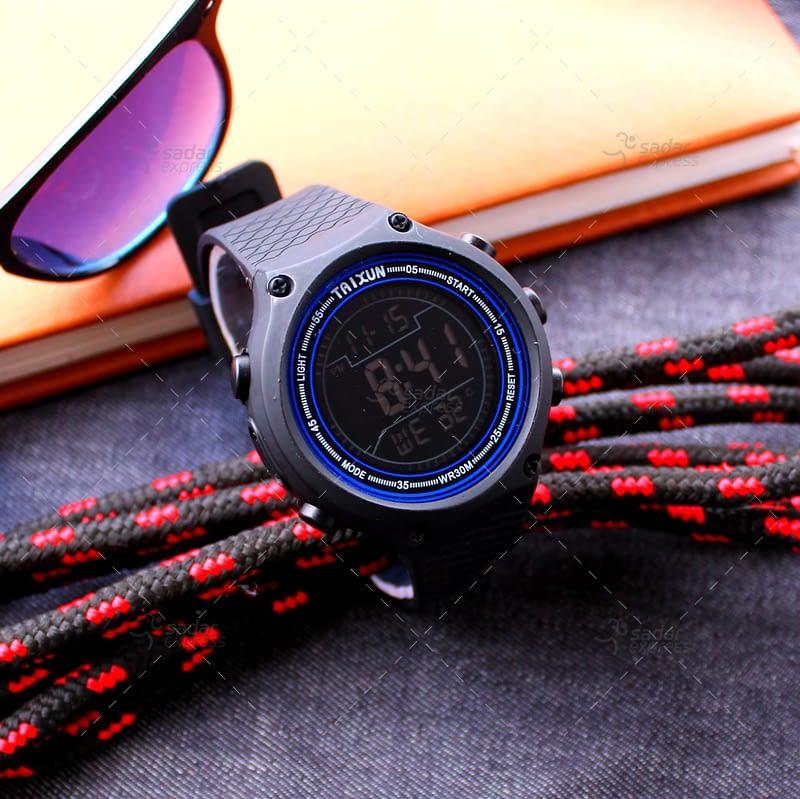 taixun digital watch water proof stop watch 1