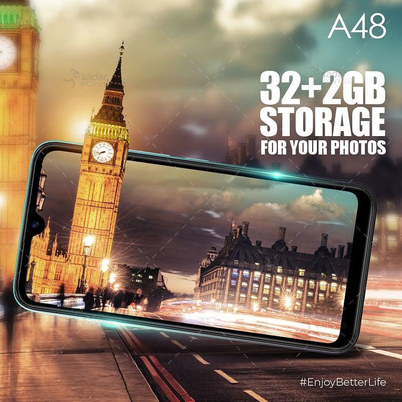 itel a48 2gb 32gb smart phone | emi 3