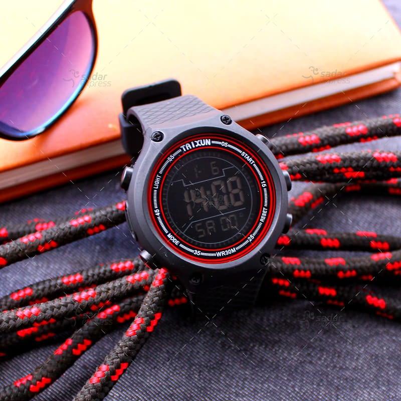 taixun digital watch water proof stop watch 2