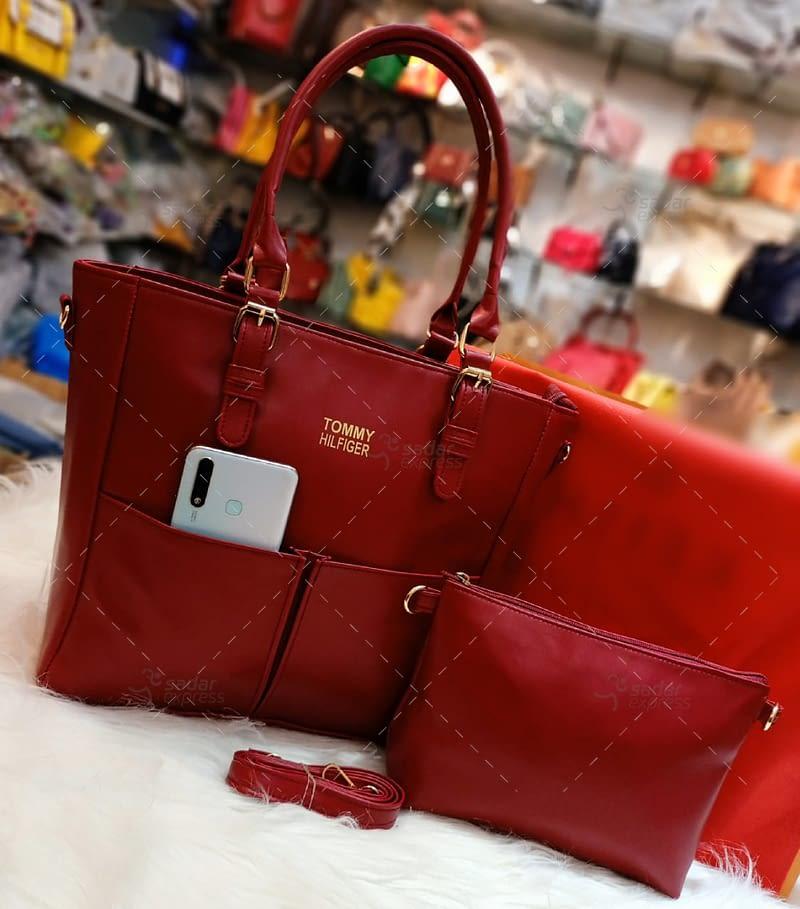 luxury t.ommy cross body original leather long strap 1
