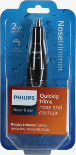 philips nt1120 nosetrimmer series 1000 comfortable nose & ear trimmer