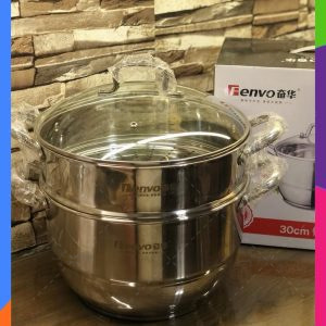 FENVO 28-CM Two Tiers Steam Cooker