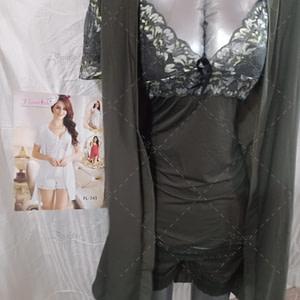 Flourish FL-745 3 Piece Bridal Nightwear & Lingerie