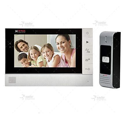 cp-jav-k70 colour video door phone (white)