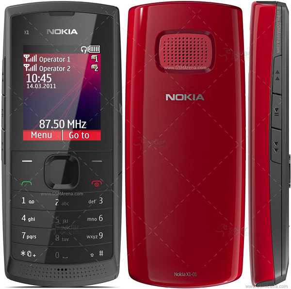 nokia classic mobile x101 100% original refurbished set