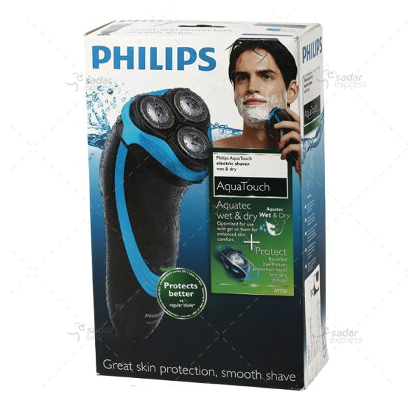 philips at750 aquatouch wet & dry shaver (made in china)
