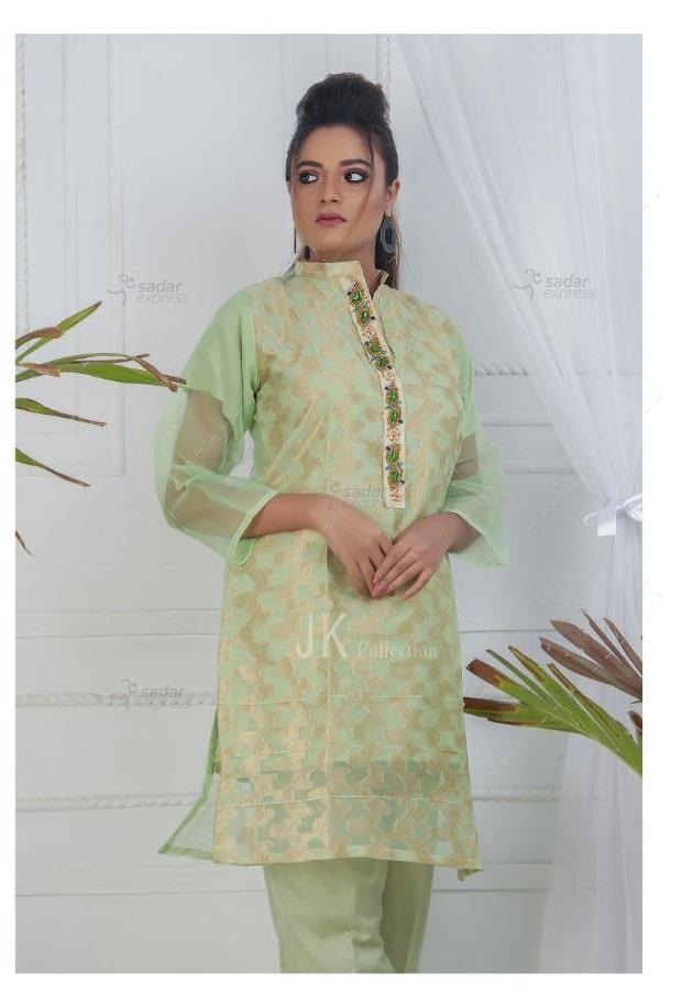 organza jacquard 2pc shalwar suit by libas
