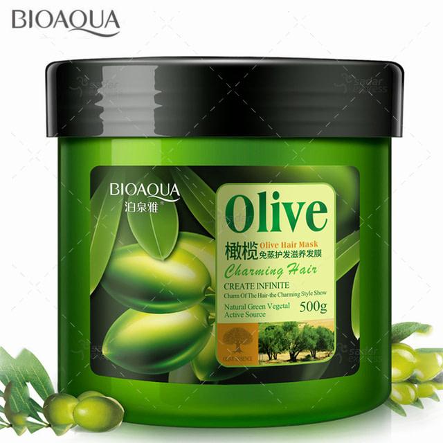 bioaqua olive hair treatment mask