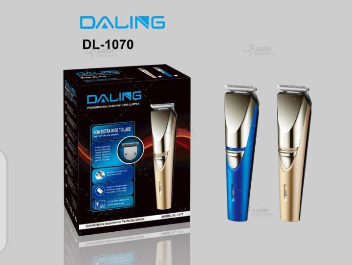 daling-dl1070 professional rechargeable electric hair clipper trimmer cutter shaver clipper