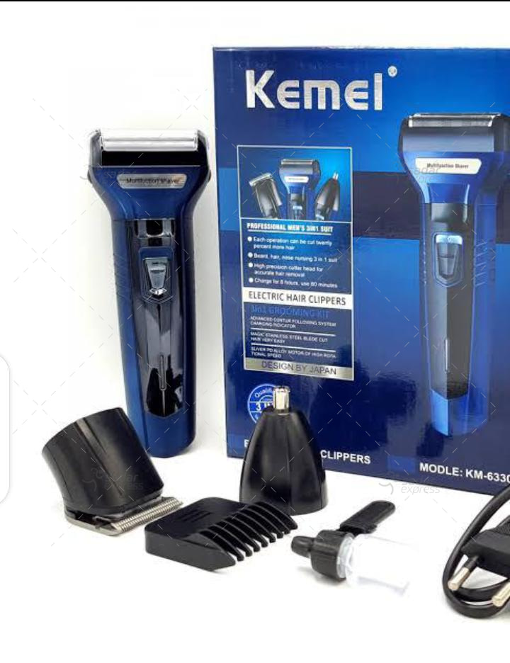 kemei km-6330 3-in-1 super grooming kit