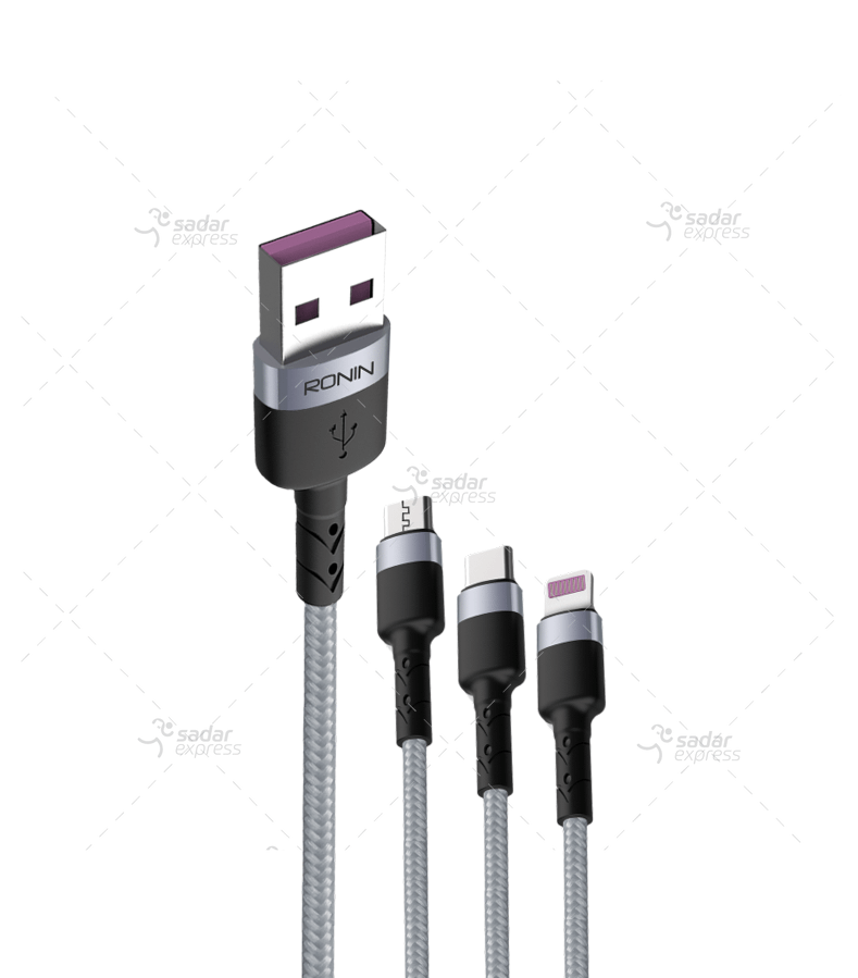 ronin r-310 2.4 a braided charging cable
