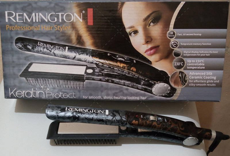 professional hair straightener advance silk ceramic coating
