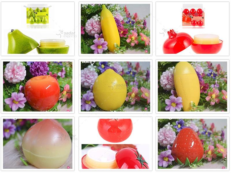 wokali fruit hand cream moisturizer for winter season 35g