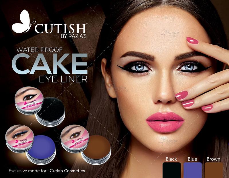cutish waterproof cake eyeliner for beautiful eyes