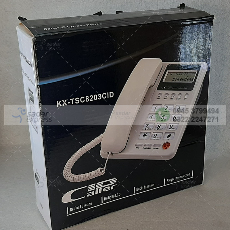 kx-tsc7721cid caller id telephone home and office landline