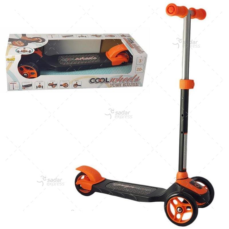 cool wheels twist scooter orange