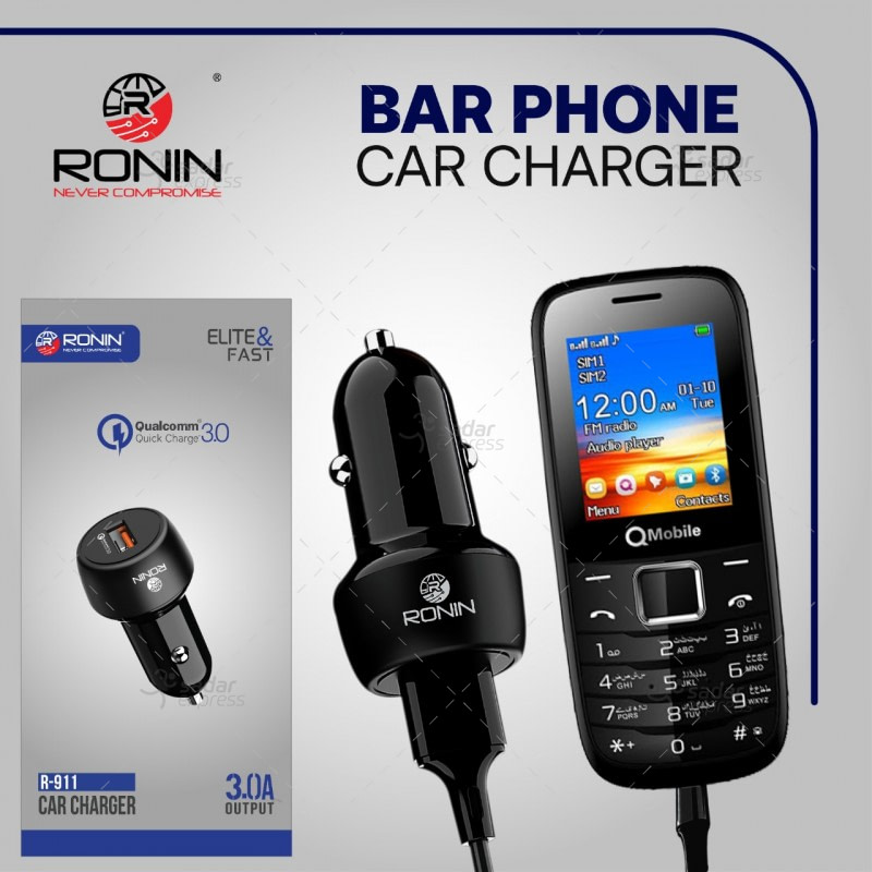 ronin r-911 elite car charger 3.0a