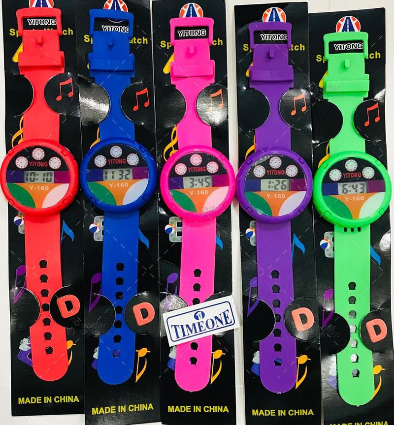 timeone kids colorful watch