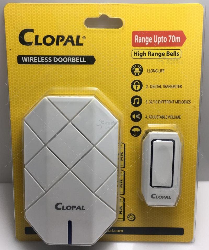wireless door bell - long range upto 70meter