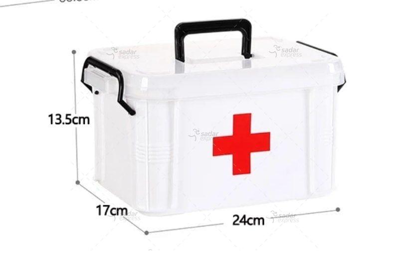 first aid storage box small